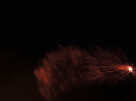 Fireworks--Abstract
