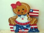 Gingerbread Kids Flag