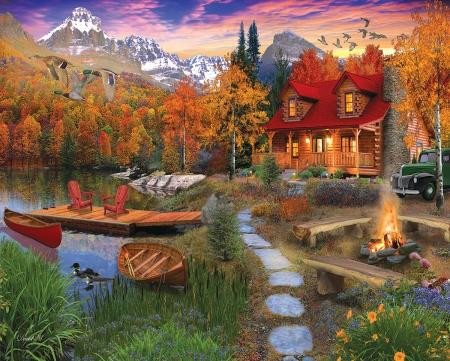 Cozy Cabin Houses Architecture Background Wallpapers On Desktop Nexus Image 2398067