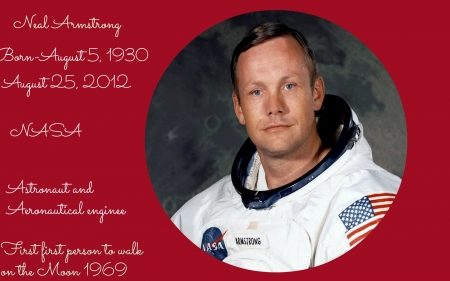 Neal Armstrong - Moon, First, Neil, Armstrong, NASA, Man