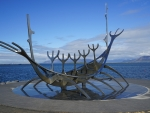 Viking Boat Sculpture