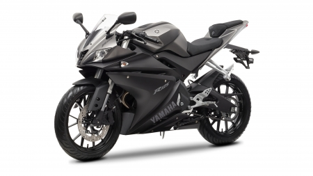Yamaha R125 - Yamaha R125, yamaha, simple background, motorcycles, vehicles