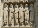 Sculptures of Saints