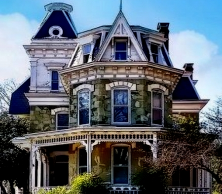 Beautiful Victorian House - Beautiful, Victorian, Blue, House