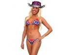 Confederate Cowgirl . .