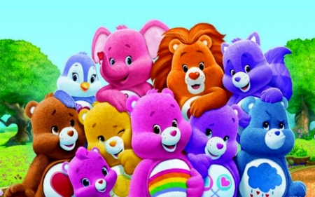 Care bears photography abstract background wallpapers - Care bears wallpaper ...