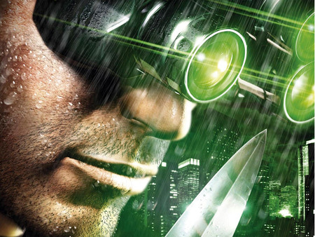 Sam Fisher In Rain Other Video Games Background