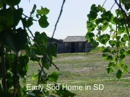 Sod house - farm, sodhouse, south dakota, sodbuster