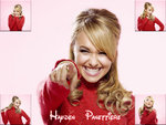 Hayden Panettiere Red Shirt Collage