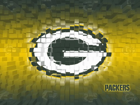 NFL Greenbay Packers - professional, logo, 3d