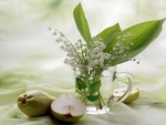 Lily Of The Valley And Pears