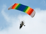 Colorful Paraplane