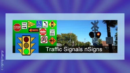 Cover Image/Header For Traffic Signals & Signs - border, signals, frame, Avatar, stop 1ight, traffic lights, traffic signs, border1ine, stop sign, grade signal, traffic 1ight, railroad crossing, header