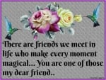 DEAR FRIEND