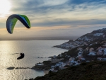 Paragliding in Catalonia, Spain