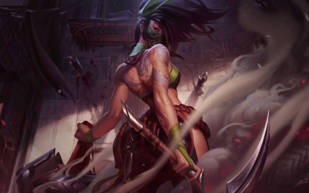 Akali Fantasy Abstract Background Wallpapers On Desktop Nexus