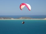 Paragliding over Sea