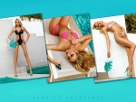 Collage of Candice Swanepoel