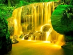 Yellow Waterfalls