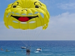 Parasailing at Start
