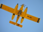 Yellow Air Tractor