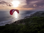 Paragliding in Indonesia