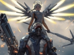 Overwatch - Mercy, Soldier 76