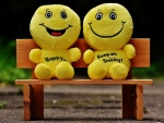 Smilies on Bench