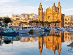 Harbor in Malta
