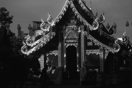 chiang Mai Temple - Temple, ornate, Buddhism, traditional