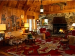 Log Cabin Living Rooms