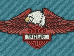Harley Davidson Eagle Patch