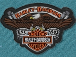 Harley Davidson Eagle patch 2
