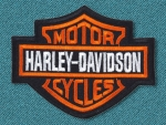 Harley Davidson Shield Patch