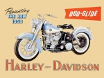 1959 Harley Davidson Duo Glide sign