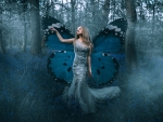 Fantasy Butterfly Woman