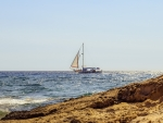Sailboat in Cyprus