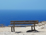 Bench by Sea in Malta