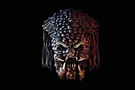 The Predator (2018 Movie) - predator, skulls, movie, mind teaser, abstract