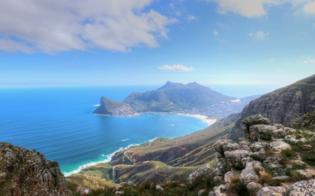 Hout Bay Cape Town Oceans Nature Background Wallpapers