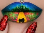 Wizard Of Oz Lip And Nails