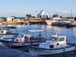 Harbor in Protaras, Cyprus