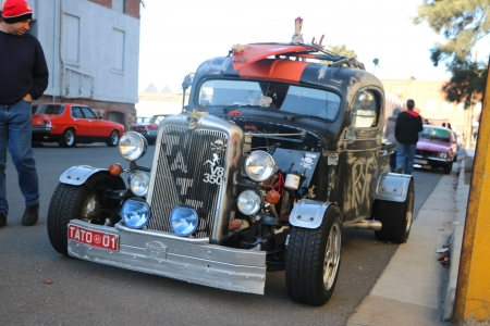 Tattoo the Rat Rod - Rat, Hotrod, Toattii, Rod, Hot Rod, Rat Rod