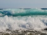 Sea Waves in Cyprus