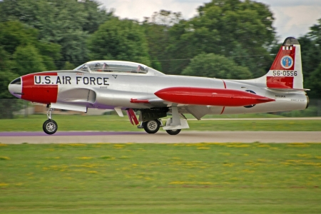 USAF Canadair T-33 Silver Star - usaf, military, aircraft, jet