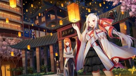 Lantern Festival Other Anime Background Wallpapers On Desktop