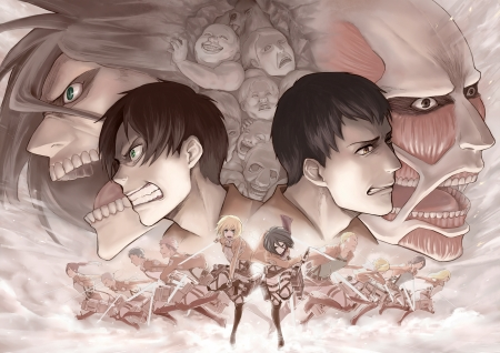 Attack On Titan Other Anime Background Wallpapers On Desktop Nexus Image 2406937