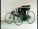 1889 daimler wire wheel car
