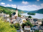 River Rhine, Germany