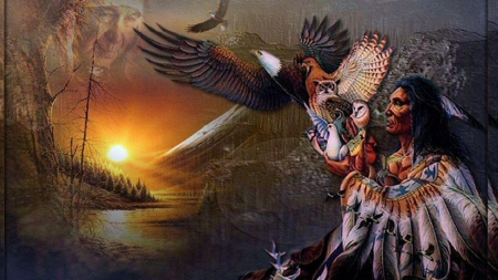 Native American Fantasy